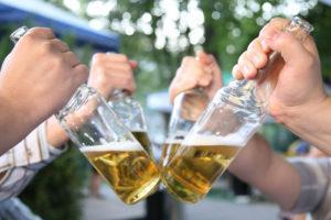 teenage drinking alcohol