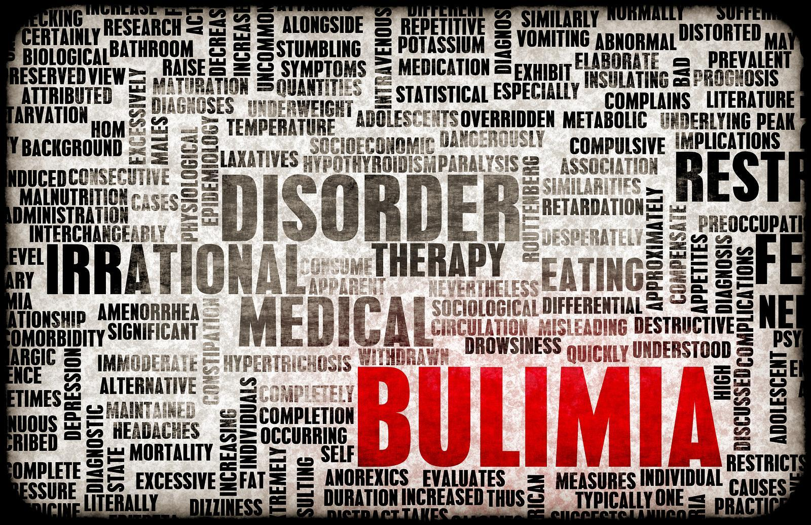 bulimia nervosa Classification bulimia nervosa is a disorder characterized by binge eating and purging, as well as excessive evaluation of one's self-worth in terms of body weight.