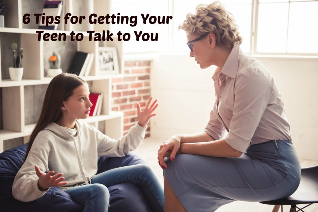 Tips for getting your teen to talk to you