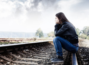 Do you know the warning signs and how to help if your teen is being bullied? (photo credit: BigStockPhoto.com)