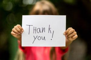 thankful gratitude teen manners
