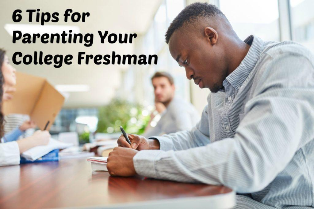 tips for parenting a college freshman