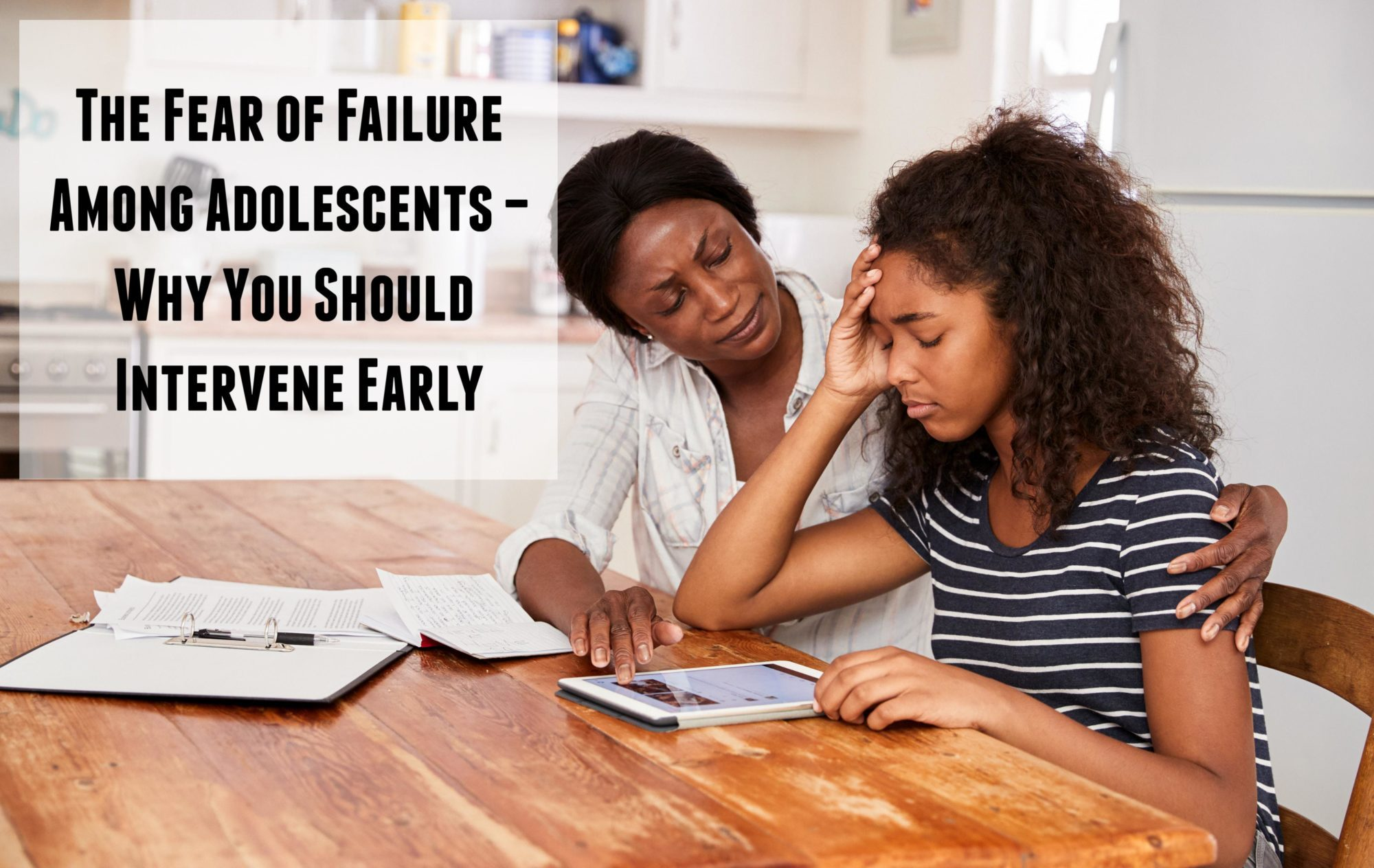 The fear of failure among adolescents--why you should intervene early